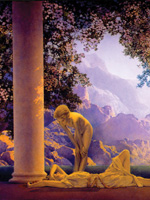 Featured Artist at the Weber Art Gallery Maxfield Parrish